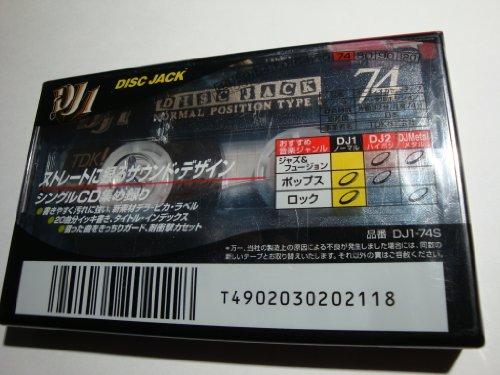 DJ1 74 DISK JACK 録音用カセットテープ 74分  ノーマル