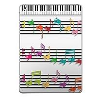 第1世代 iPad Pro 12.9 inch インチ 共通 スキンシール apple アップル アイパッド プロ A1584 A1652 タブレット tablet シール ステッカー ケース 保護シール 背面 人気 単品 おしゃれ ラブリー 音符 楽譜 ピアノ 006472