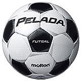 molten(モルテン)ペレーダフットサル フットサルボール4号球 一般用 検定球 ホワイト F9P4001 WHTBLK