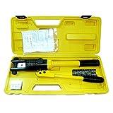 ハイドロプライヤー 油圧式 ヘキサゴンダイス 8種 圧着 ペンチ 工具 配線 ケーブル