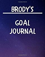 Brody's Goal Journal: 2020 New Year Planner Goal Journal Gift for Brody  / Notebook / Diary / Unique Greeting Card Alternative