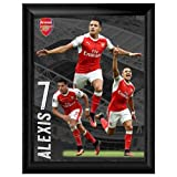 Arsenal F.C. アーセナル F.C. フレーム プリント サンチェス 16 x 12 / ポスター