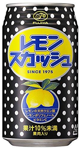 不二家 レモンスカッシュ 350ml ×24本