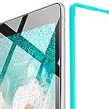 ESR iPad Pro 10.5 フィルム 【 貼り付けガイド枠付き 無料交換・返金保証 】 旭硝子製 0.3mm 三倍強化 10.5インチ 専用 液晶保護フィルム 高透明度 硬度9H 気泡ゼロ スクラッチ 指紋拭きやすい