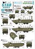 スターデカール 1/35 第二次世界大戦 アメリカ軍 水陸両用車フォード GPA/DUKW 75周年スペシャル フランス ノルマンディ 1944年 プラモデル用デカール SD35-C1235