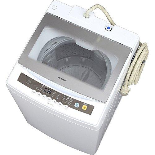 アイリスオーヤマ 全自動洗濯機 7kg 簡易乾燥機能付き I...