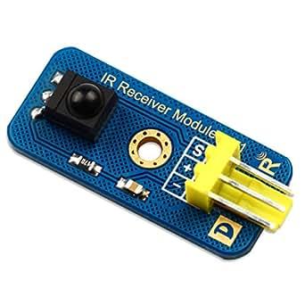 Arduino 赤外線 受信モジュール デジタル出力 38kHz ハッカソン Robotbase社製 ソースコード付き