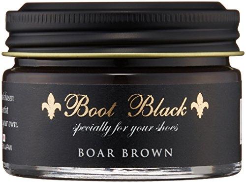 [ブートブラック] BootBlack COLOR SHOE CREAM BBクリーム55 (BORE BROWN(ボアブラウン)55g)