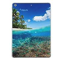 第1世代 iPad Pro 9.7 inch インチ 共通 スキンシール apple アップル アイパッド プロ A1673 A1674 A1675 タブレット tablet シール ステッカー ケース 保護シール 背面 人気 単品 おしゃれ 海 砂浜 写真 010843