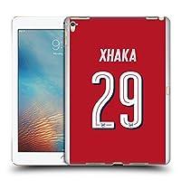 オフィシャル Arsenal FC Granit Xhaka 2017/18 プレイヤーズ・ホームキット グループ 2 iPad Pro 9.7 (2016) 専用ハードバックケース