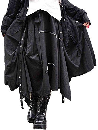 (エーシーディーシーラグ) ACDC RAG 3wayスカート パンク スカート ロック (ブラック)