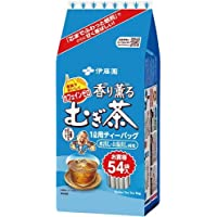 伊藤園 香り薫るむぎ茶ティーバッグ 54袋入×3