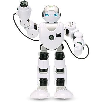 GoolRC LE NENG TOYS K1 インテリジェント プログラム可能 人型ロボット 2.4Gリモートコントロールロボット シュート 音楽ダンス アームスイング機能