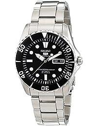 (セイコー)Seiko 5 メンズ 腕時計 Black Dial Stainless Steel Automatic Watch SNZF17[並行輸入品]gellmoll