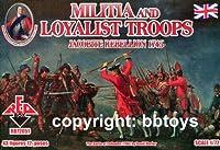 Les troupes loyalistes Milice + 1745 Jacobite R. (1:72)