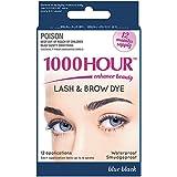 1000 HOUR Eyelash & Brow Dye Kit, Blue/Black, 72g