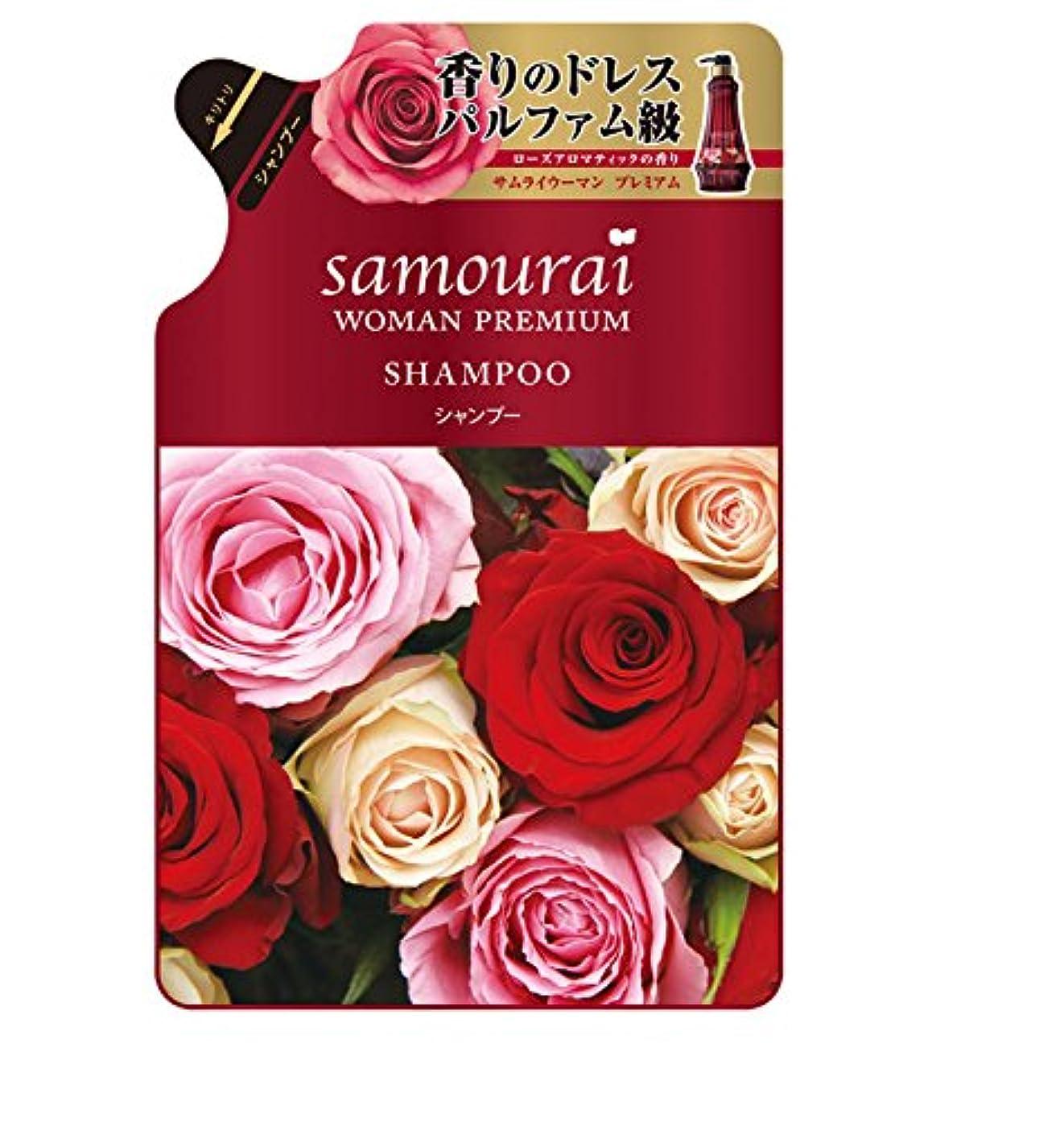 冷笑するフォアタイプ溶融Samourai woman(サムライウーマン) サムライウーマン プレミアム シャンプーつめかえ用 370mL