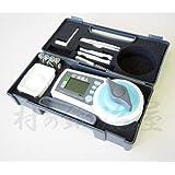 TK 高精度 米麦水分測定器(米麦水分計) KM-1 試料を入れて、ハンドルを回し、ボタンを押すだけ!