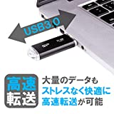 シリコンパワーUSBメモリ32GBUSB3.1&USB3.0ヘアライン仕上げ永久保証BlazeB02SP032GBUF3B02V1K