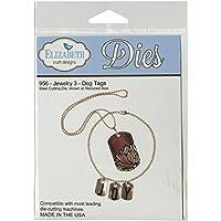 Elizabeth Craft Designs Jewelry 3-Dog Tags Steel Cutting Die by Elizabeth Craft Designs