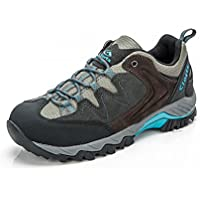 Clorts Women's Suede Hiking Shoe Waterproof Trail Shoe HKL806