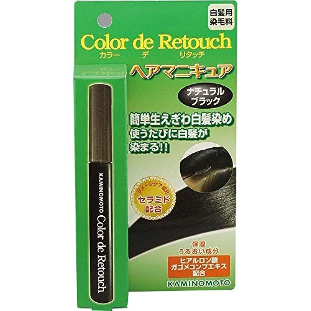 品思い出カフェ加美乃素 カラー デ リタッチ ナチュラルブラック 10mL×6個