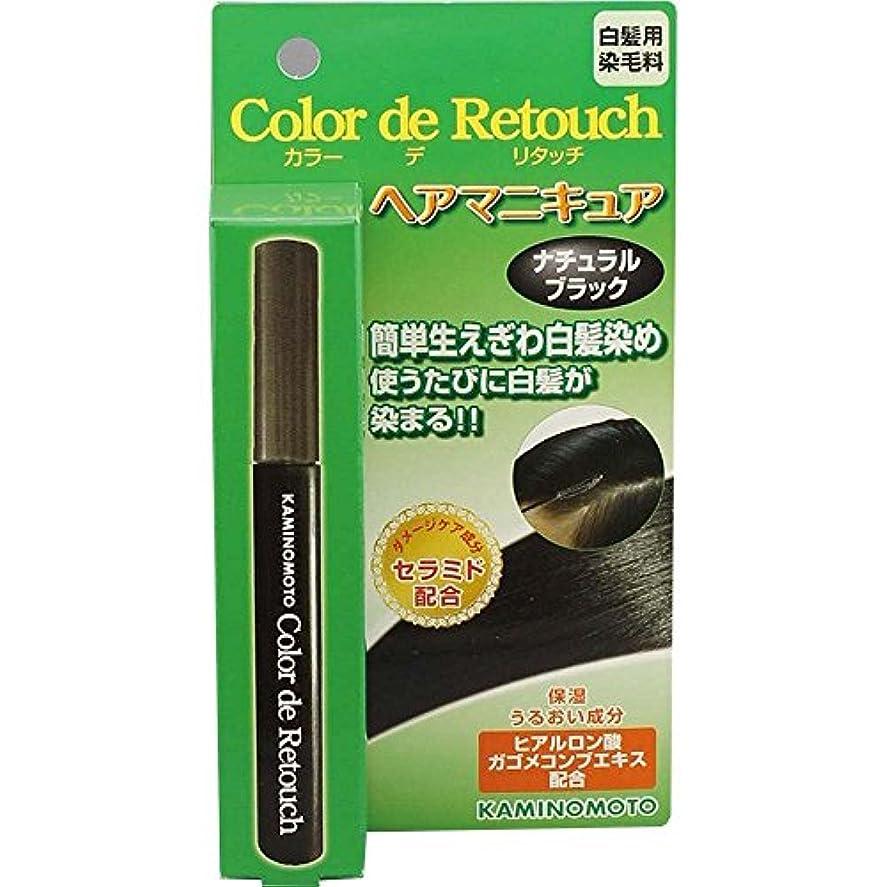 反対眼講堂加美乃素 カラー デ リタッチ ナチュラルブラック 10mL×6個
