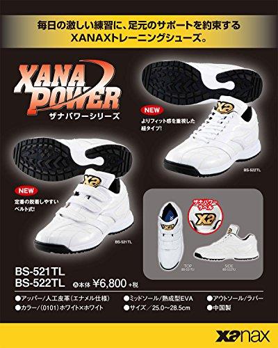 ザナックス トレーニング シューズ ザナパワー BS-521TL - 25.5cm