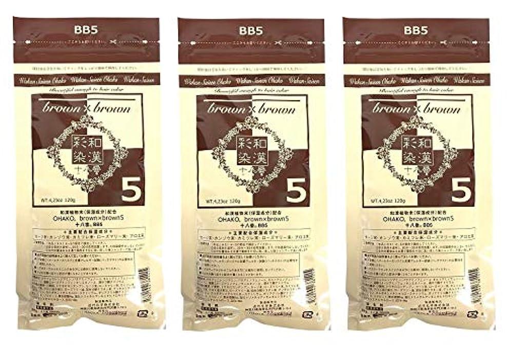 丘理論的丘【3個セット】グランデックス 和漢彩染 十八番 120g BB5