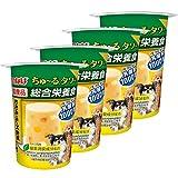 いなばペットフード 犬用おやつ ちゅ~る タワー 総合栄養食 ささみ&チーズ・野菜 80g×4個 (まとめ買い)