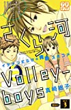 さくら河 Volley―boys プチデザ(3) (デザートコミックス)