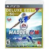 Madden NFL 16 Deluxe Edition PlayStation  マッデン NFL16 デラックスエディションプレイステーション3 北米英語版 [並行輸入品]