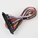 EG Starts Arcade JAMMA 56 Pin Interface Cabinet Wire Wiring Harness Loom Multicade Arcade PCB Cable For Arcade Machine Video Game Consoles Jamma 60-in-1 board & Pandora box 2 3 4 Game [並行輸入品]