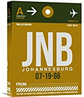 Naxart Studio JNB Johannesburg Luggage Tag 1 Giclee on Canvas 12 by 1.5 by 16 [並行輸入品]