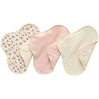 (すぃーと・こっとん) sweet cotton 布ナプキン ネルライナー3枚セット 綿100% パンティライナー サニタリ(