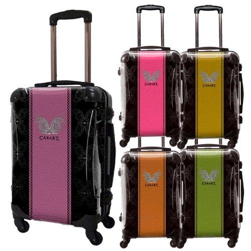 グラムアートスーツケース/ベーシック/フレーム4輪/TSAロック/機内持込可能/キャラート/パープル/オレンジ/ゴールド/ピンク/グリーン/CRA01-004