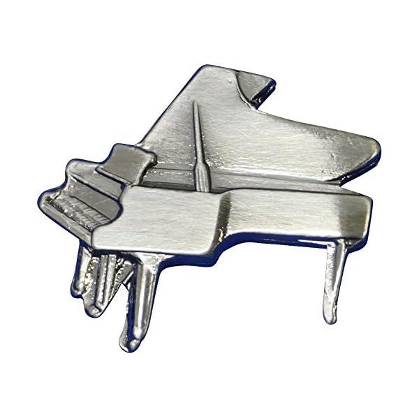ナカノ スタンダードブローチ ピアノ シルバー ...の商品画像