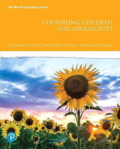 Download Counseling Children and Adolescents plus MyLab Counseling with Pearson eText -- Access Card Package (What's New in Counseling) 0134710835