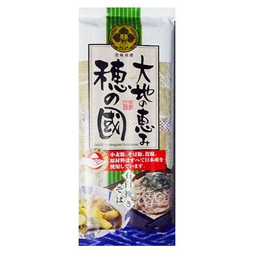葵フーズ 大地の恵み穂の國 石臼挽きそば 320g×24個