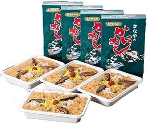 北海道・長万部駅 極上味 あたたかい 駅弁「かにめし」 4食セット 冷凍