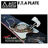 ACT GEAR アクトギア F.T.A PLATE アルペン スノーボード バインディング ALPINE