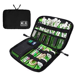 新版 Visenta 小物収納ポーチ 軽量 生活防水 サイズ種類豊富 スマホ PCアクセサリー収納バッグ
