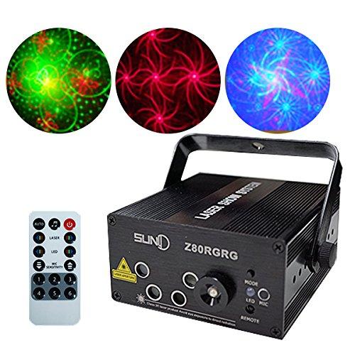 電光ホーム レーザービーム レーザーステージ ライト RG+...