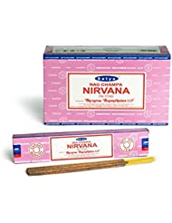Satya Nirvana Incense Sticks 180グラムボックス