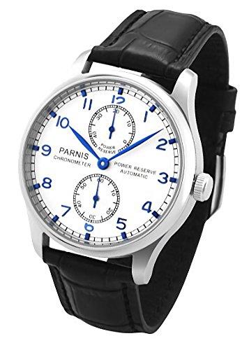 パーニス 腕時計 自動巻 パワーリザーブ PN-048S4ALP 並行輸入品
