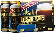 Asahi Super dry Black Beer, Pack of 6 x 350ml