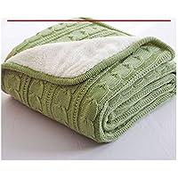 毛布 2枚合わせ 2枚合わせ毛布 マイクロファイバー ニット ポア付き ムートン 毛布 ブランケット ひざ掛け 1.2M*1.8M 全5色 シングル ぬくぬく ボリューム ヒートウォーム マイクロファイバー毛布 厚手 静電気防止 洗濯 洗える リバーシブル シープタッチ 毛布 セミダブルサイズ
