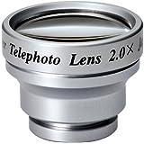 トダ精光 ケ-タイレンズ K-501 TELEPHOTO2.0倍 アルミミウム製 シルバー