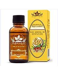 ZooArts ジンジャーエッセンシャルオイル 精油 100%ピュアナチュラル ジンジャーオイル スパマッサージオイル ジンジャーオイルオーガニック 植物精油 30ml