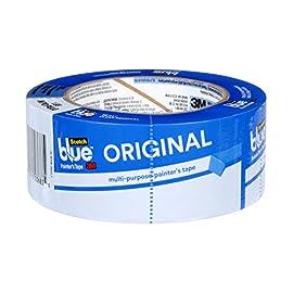 「造形物の固定」と「接地面の綺麗な仕上がり」を保持するためセルボード上に貼り込み使用するのが「Scotch ブルーテープ」になります。   他のテープと違い耐久性に優れ、特にアクリル系接着剤を使用しているため耐熱性にも優れています。   貼込の際シワが出来にくい「厚手な生地」のため、扱いやすさも兼ね備えています。